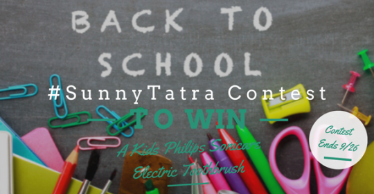 #SunnyTatra Back to School Contest